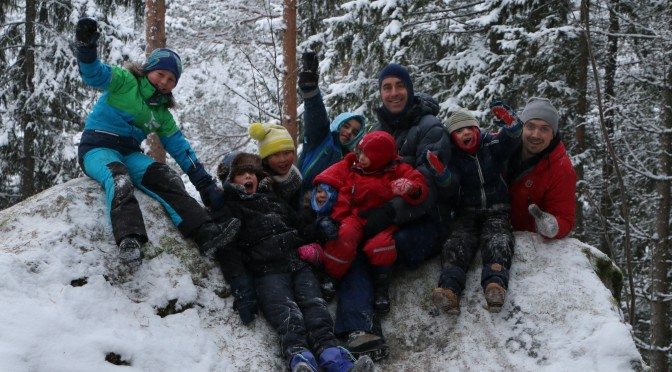Storinnrykk i Vinterskogen
