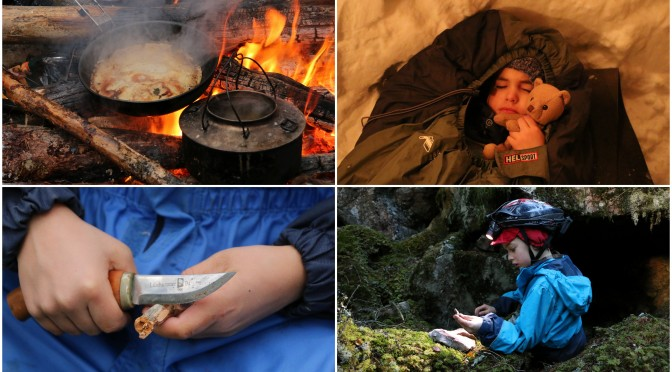 10 gøyale uteaktiviteter om vinteren for hele familien